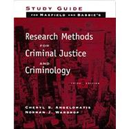 S.G. RESEARCH METHODS F/CRIMINAL JUSTICE & CRIMINOLOGY