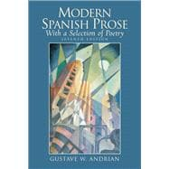 Modern Spanish Prose With a Selection of Poetry
