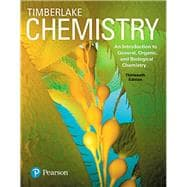 Chemistry An Introduction to General, Organic, and Biological Chemistry Plus MasteringChemistry with eText -- Access Card Package