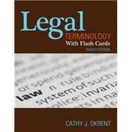 Legal Terminology With Flashcards, 4E