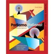 Parliamo italiano 4th Edition Activities Manual: Activities Manual and Lab Audio, 4th Edition