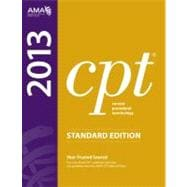 CPT 2013 Standard Edition (Thumb-Indexed, Softbound)
