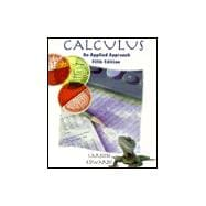 Calculus: An Applied Approach
