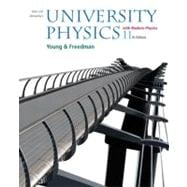 University Physics with Modern Physics with MasteringPhysics™
