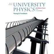 University Physics with Modern Physics with MasteringPhysics™