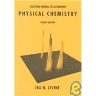 Physical Chemistry Student Solutions Manual