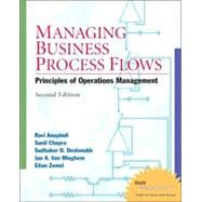 Managing Business Process Flows: Principles of Operations Management w/ Student CD