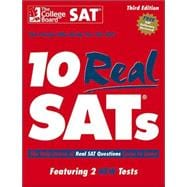 10 Real SATs, 3rd Edition