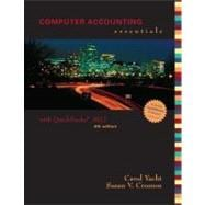 Computer Accounting Essentials Using Quickbooks Pro 2012 with CD