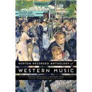 Norton Recorded Anthology of Western Music Vol 1