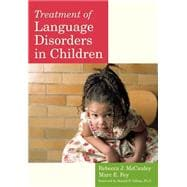 Treatment of Language Disorders in Children (Book with DVD)