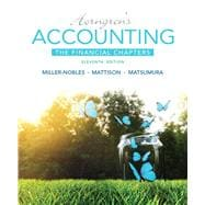 Horngren's Accounting, The Financial Chapters