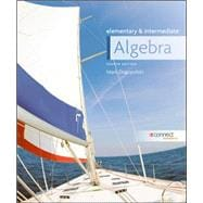 Combo: Elementary and Intermediate Algebra with Connect Access Card