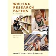 MyCompLab with Pearson eText -- Standalone Access Card -- for Writing Research Papers