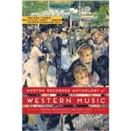 Norton Recorded Anthology of Western Music: The Twentieth Century and After