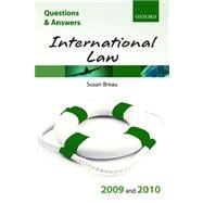 Q & A International Law 2009 and 2010