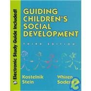 Guiding Children's Social Development (3rd w/ disk)
