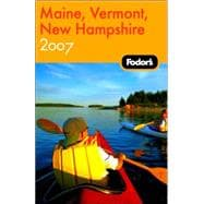 Fodor's Maine, Vermont, New Hampshire, 10th Edition