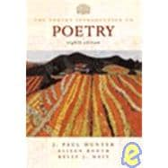 Norton Introduction to Poetry (8th Edition) Text Only