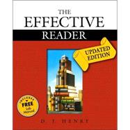 Effective Reader, The, Updated Edition (with MyReadingLab)
