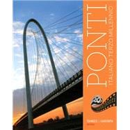 Student Activities Manual for Tognozzi's Ponti, 3rd