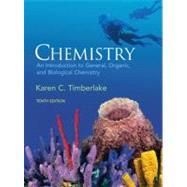 Chemistry: INTRO GEN ORG, BIO & MSTRG CRD PKG