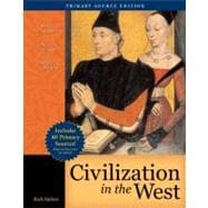 Civilization in the West, Single Volume Edition, Primary Source Edition (Book Alone)