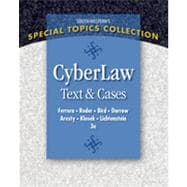 CyberLaw: Text and Cases, 3rd Edition