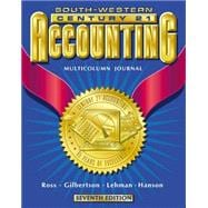 Century 21 Accounting Multicolumn Journal Approach Student Text Ch 1-26