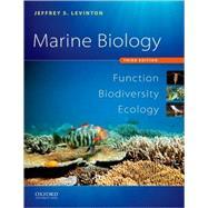 Marine Biology Function, Biodiversity, Ecology