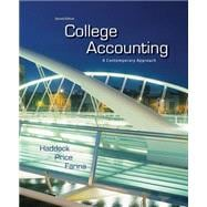 College Accounting : A Contemporary Approach