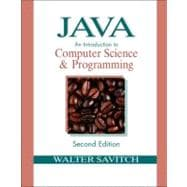 Java : An Introduction to Computer Science and Programming