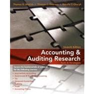 Accounting & Auditing Research: Tools & Strategies, 7th Edition