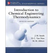 MP Introduction to Chemical Engineering Thermodynamics