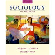 Sociology The Essentials (with CD-ROM and InfoTrac)