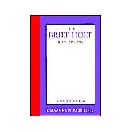Bundle Brief Holt Handbook + APA Update Card