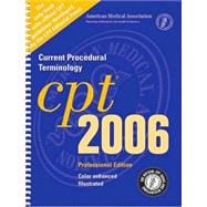 Cpt 2006 Professional Edition: Current Procedural Terminology
