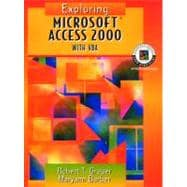 Exploring Microsoft Access 2000 with VBA