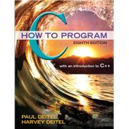 C How to Program Plus MyProgrammingLab with Pearson eText -- Access Card Package