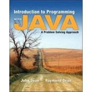 Introduction to Programming with Java : A Problem Solving Approach