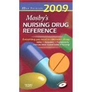 Mosby's Nursing Drug Reference 2009