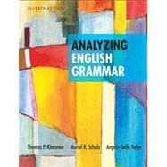 Analyzing English Grammar Plus NEW MyCompLab -- Access Card Package