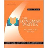 *FT Longman Writer, The: Rhetoric and Reader, Brief Edition (with Study Card for Grammar and Documentation)