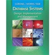 Database Systems: Design, Implementation, and Management, 9th Edition