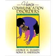 Human Communication Disorders : An Introduction