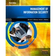 Management of Information Security, 3rd Edition