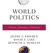World Politics 1E Pa