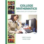 College Mathematics : 2009 Update with MyMathLab/MyStatLab -- Valuepack Access Card and Student Solutions Manual Package