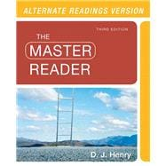 Master Reader,The,  Alternate Edition Plus MyReadingLab with eText -- Access Card Package