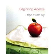 Beginning Algebra Value Package (includes Student Solutions Manual  for Beginning Algebra)
